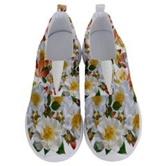 Flowers Roses Leaves Autumn No Lace Lightweight Shoes