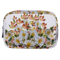 Flowers Roses Leaves Autumn Make Up Pouch (small)