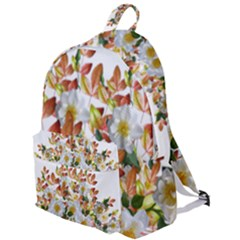 Flowers Roses Leaves Autumn The Plain Backpack