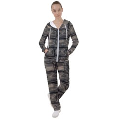 Stone Patch Sidewalk Women s Tracksuit