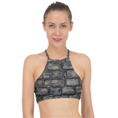 Stone Patch Sidewalk Racer Front Bikini Top