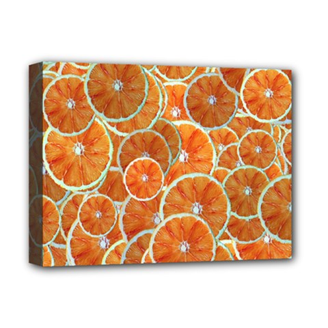 Oranges Background Deluxe Canvas 16  X 12  (stretched)