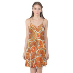 Oranges Background Camis Nightgown