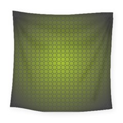 Hexagon Background Circle Square Tapestry (large)