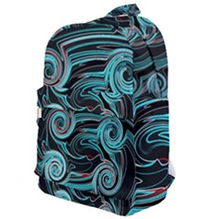 Background Neon Abstract Classic Backpack by HermanTelo