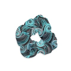 Background Neon Abstract Velvet Scrunchie