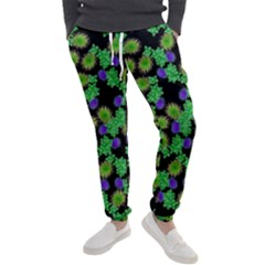 Flowers Pattern Background Men s Jogger Sweatpants by HermanTelo