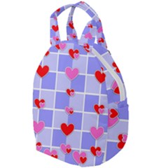 Love Hearts Valentine Decorative Travel Backpacks