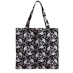 Fabric Pattern Grocery Tote Bag by AnjaniArt