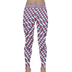Abstract Chaos Confusion Classic Yoga Leggings