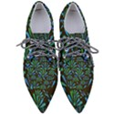 Zappwaits Flower Women s Pointed Oxford Shoes View1