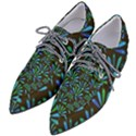 Zappwaits Flower Women s Pointed Oxford Shoes View2