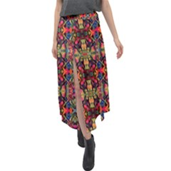 J 2 Velour Split Maxi Skirt by ArtworkByPatrick