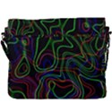 Neon waves                               Buckle Messenger Bag View3
