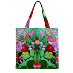 Plantagenet Bouquet Mint Grocery Tote Bag