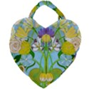 Plantagenet Bouquet White Giant Heart Shaped Tote View1