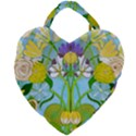 Plantagenet Bouquet White Giant Heart Shaped Tote View2