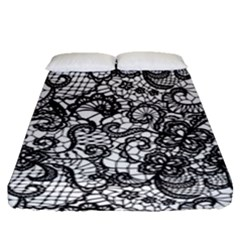 Encaje Fitted Sheet (queen Size) by Sobalvarro