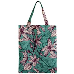 Vintage Floral Pattern Classic Tote Bag by Sobalvarro