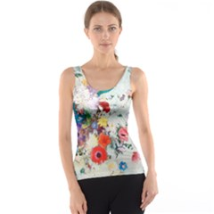 Floral Bouquet Tank Top by Sobalvarro