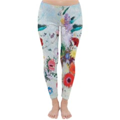 Floral Bouquet Classic Winter Leggings by Sobalvarro