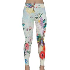 Floral Bouquet Classic Yoga Leggings by Sobalvarro