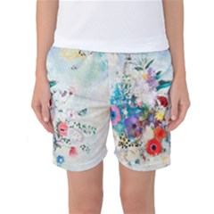 Floral Bouquet Women s Basketball Shorts by Sobalvarro