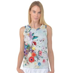 Floral Bouquet Women s Basketball Tank Top by Sobalvarro