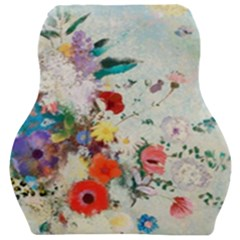 Floral Bouquet Car Seat Velour Cushion  by Sobalvarro