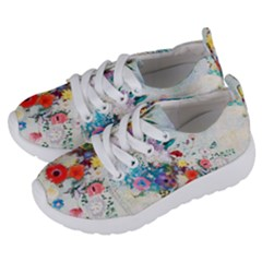 Floral Bouquet Kids  Lightweight Sports Shoes by Sobalvarro