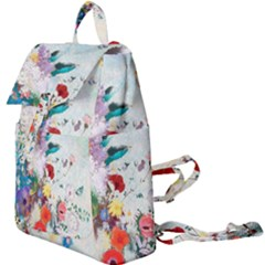 Floral Bouquet Buckle Everyday Backpack by Sobalvarro