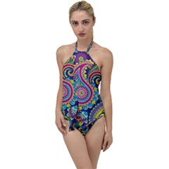 Ornament Go With The Flow One Piece Swimsuit by Sobalvarro