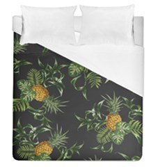 Pineapples Pattern Duvet Cover (queen Size) by Sobalvarro