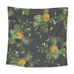 Pineapples Pattern Square Tapestry (large) by Sobalvarro
