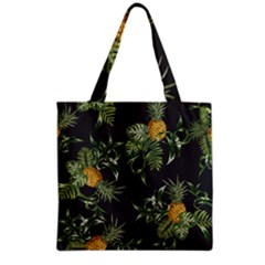 Pineapples Pattern Grocery Tote Bag by Sobalvarro