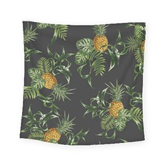 Pineapples Pattern Square Tapestry (small) by Sobalvarro