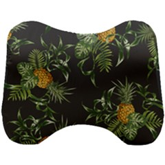 Pineapples Pattern Head Support Cushion by Sobalvarro