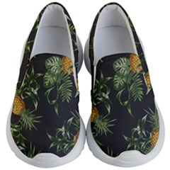 Pineapples Pattern Kids  Lightweight Slip Ons by Sobalvarro