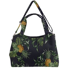 Pineapples Pattern Double Compartment Shoulder Bag by Sobalvarro