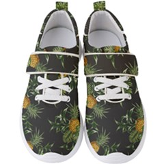 Pineapples Pattern Men s Velcro Strap Shoes by Sobalvarro