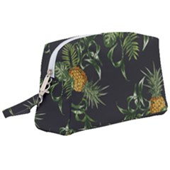 Pineapples Pattern Wristlet Pouch Bag (large) by Sobalvarro