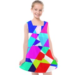 Patchwork Kids  Cross Back Dress by designsbyamerianna