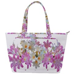 Lilies Belladonna Easter Lilies Back Pocket Shoulder Bag  by Simbadda