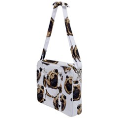 Pug Faces Cross Body Office Bag by designbywhacky