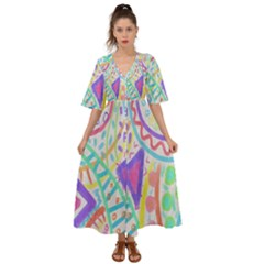 Colorful Abstract Wearable Art