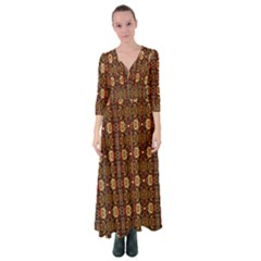 L 7 Button Up Maxi Dress