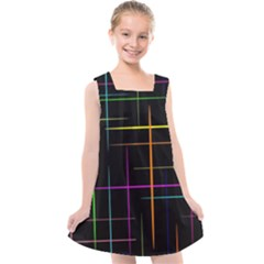 Colorhappens Kids  Cross Back Dress by designsbyamerianna