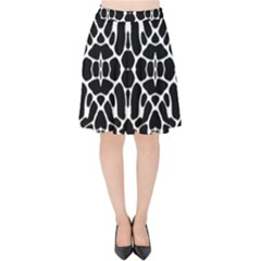 Cairns Velvet High Waist Skirt by moaus