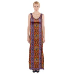 M 3 Thigh Split Maxi Dress
