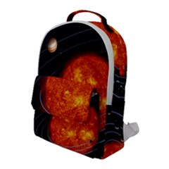 Solar System Planet Planetary System Flap Pocket Backpack (large)